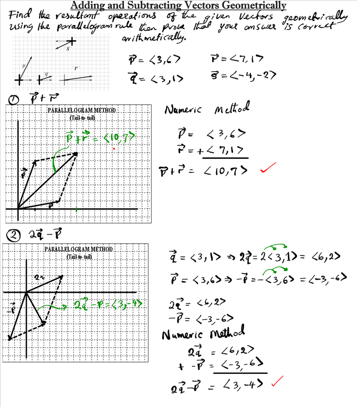 Vector Addition Worksheet vector addition worksheet – Vectors Worksheet