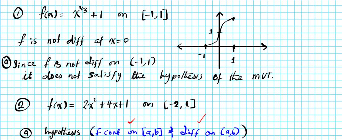 The Mean Value Theorem Mvt Mathgotserved. Worked Out Exles On The Mean Value Theorem. Worksheet. Worksheet On Mean Value Theorem At Clickcart.co