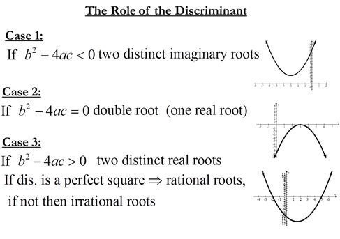 write a quadratic equation in standard form with the given roots 7